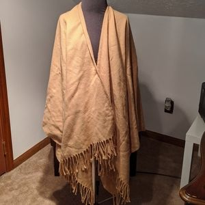 Camel brown cape